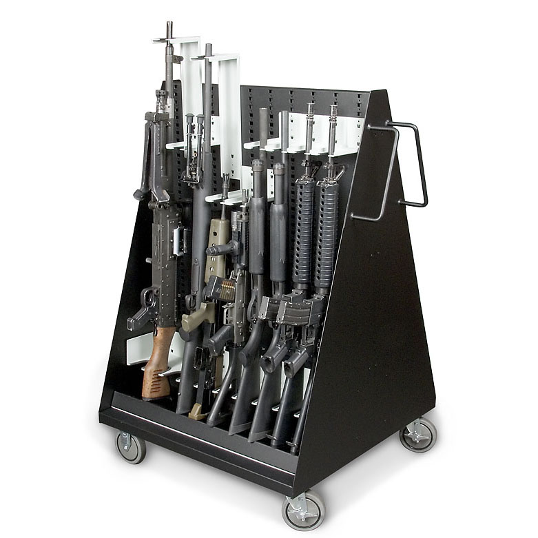 Mobile Weapons Storage Cart
