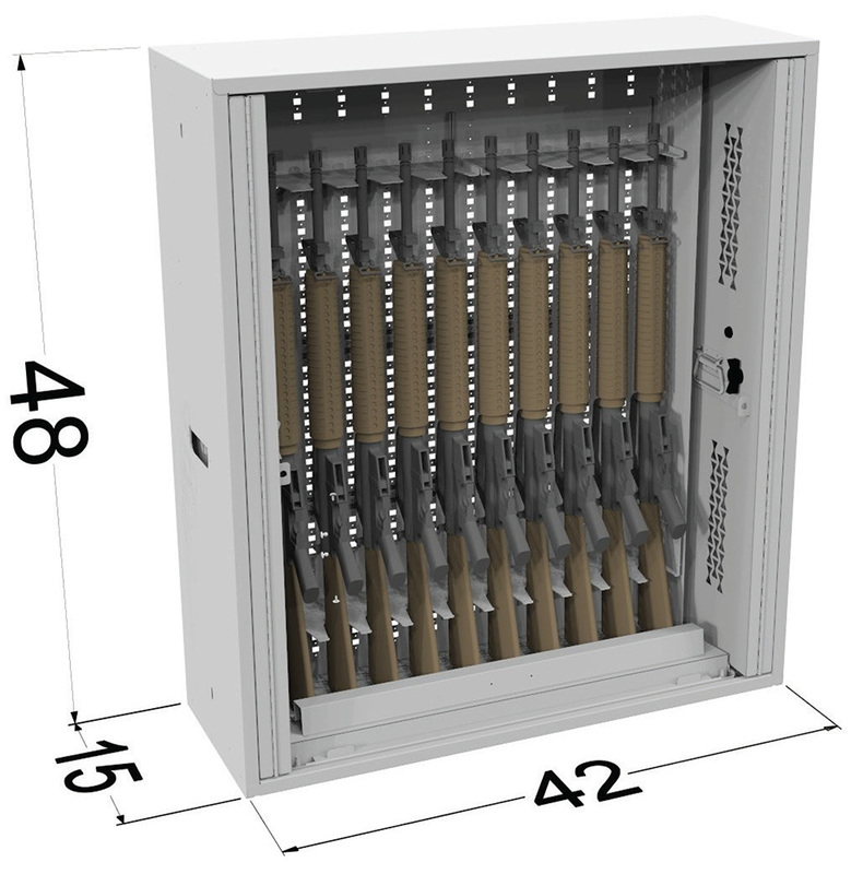 NSN Weapon Storage   NSN Rifle Storage Cabinet